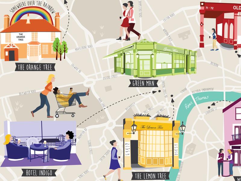 Londonist Drinks map