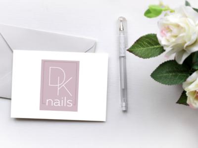 Nail master logo design