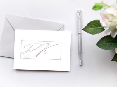 Nail master logo concept design