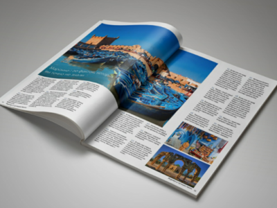 TraWell magazine design
