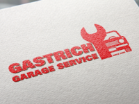 Car service logo design concept