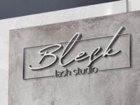 Logo design for lash studio