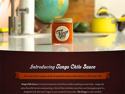 Tango Chile Sauce website tango chile sauce hot orange