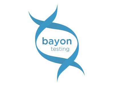 Bayon Testing logo blood dna testing pharmaceutical