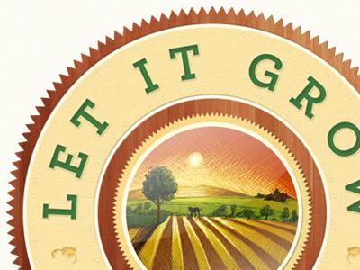 Let It Grow Organik logo