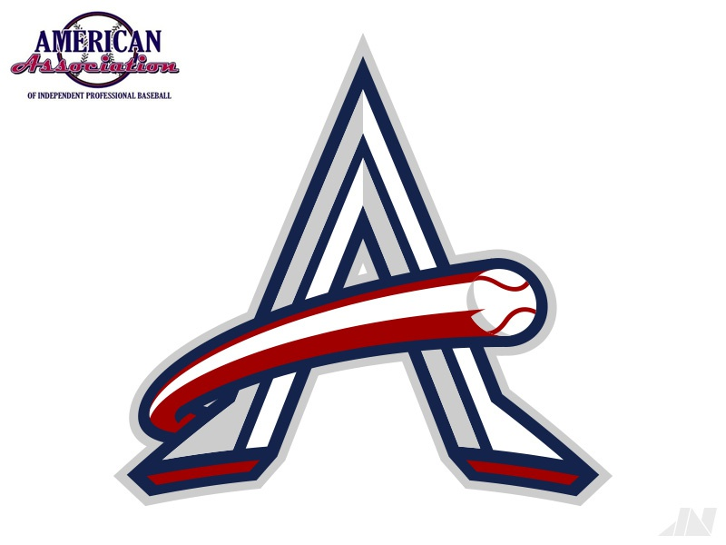 American Association of Independent Professional Baseball american association baseball sports brand identity logo branding american association