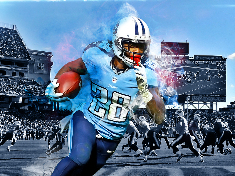 Tennessee Titans tennessee titans creative photoshop mockup nfl football sports