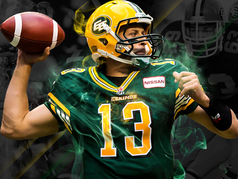 Edmonton Eskimos edmonton eskimos creative photoshop mockup cfl football sports