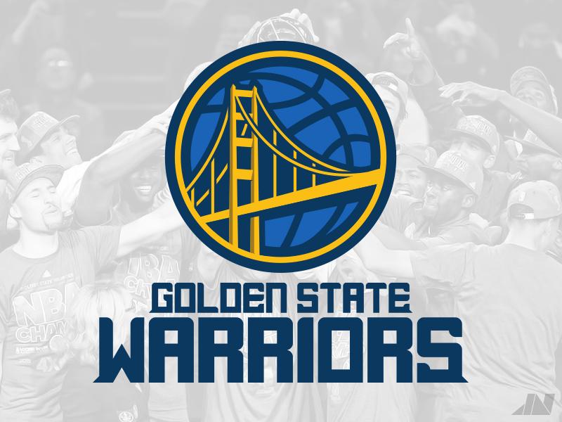 Golden State Warriors golden state warriors illustrator identity logos nba basketball branding sports