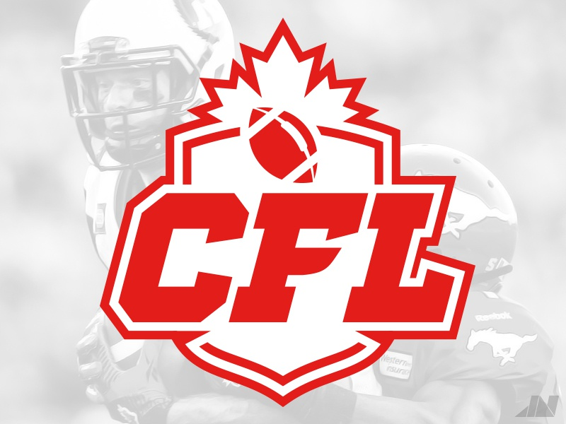 Canadian Football League canadian football league cfl football sports logos identity branding