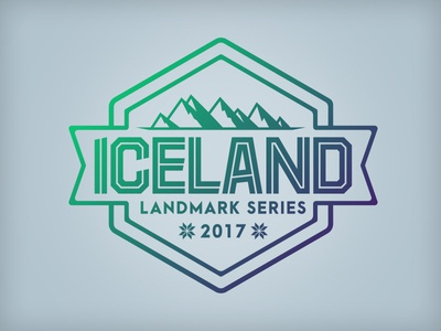 Iceland Landmark Series