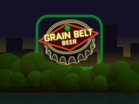Grain Belt By Night