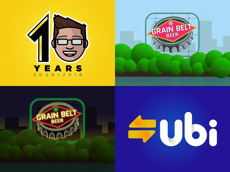 2018 typography vector design branding brand identity illustration logo