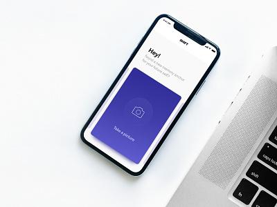 Shift App design case study prototype colours minimal clean card xd interace interaction app ux ui