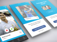 Sport Challenge App Design