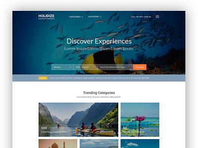 Holidize - Discover Experiences