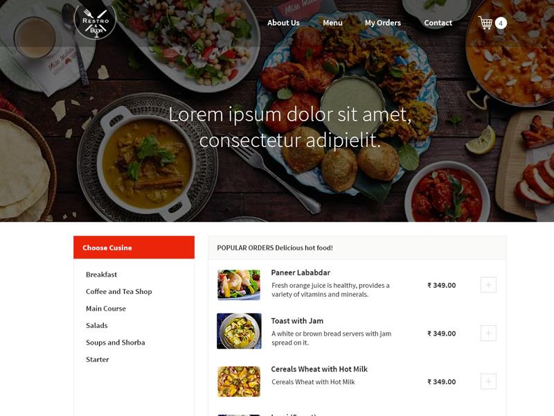 Food Order Menu food menu food restaurants online food order food order