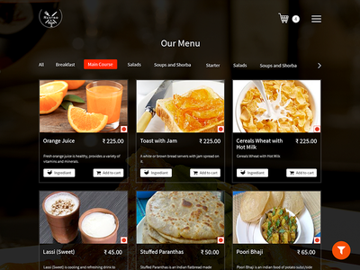 Food Menu food item food app food order online food order food menu