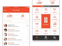 Mobile App Homescreen Design
