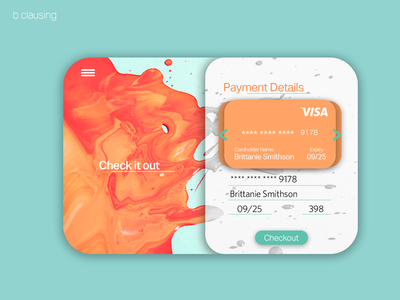 Daily UI 002 Checkout