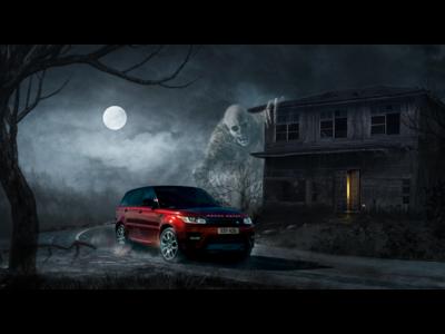 Land Rover Halloween