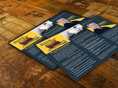 Coaching  Landscape Flyer advertising add creative nice freelance rastruan real estate vector ui design illustration magazine design logo print booklet design graphic design flyer brochure design catalog design branding