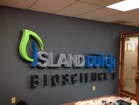 Island Dutch Bioscience s  Logo Design