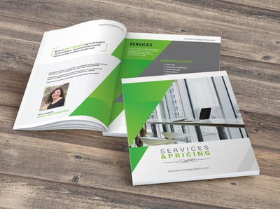 Service & Pricing Brochure Design