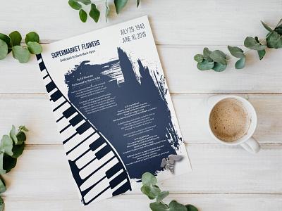 Lyrics flyer Design style event education editorial ecommerce art app music social creative illustration logo print magazine design booklet design flyer graphic design brochure design catalog design branding