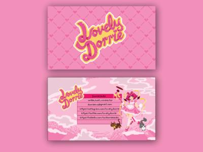 Logo + Business Card / LovelyDorrie / writer, host, voice actor