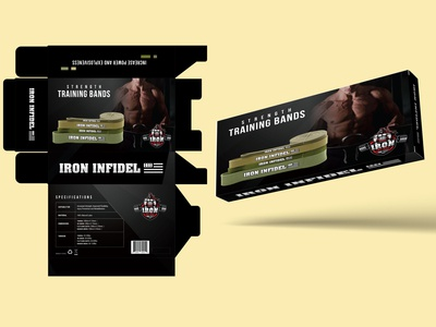 Iron Infidel Color Box Design
