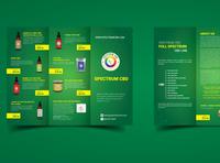 Spectrum CBD Brochure Design