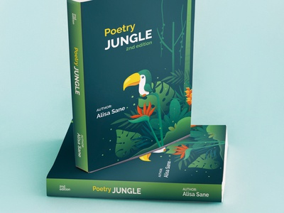 Poetry Jungle Book Cover Design