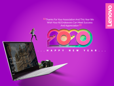 New Year Greeting Post Design