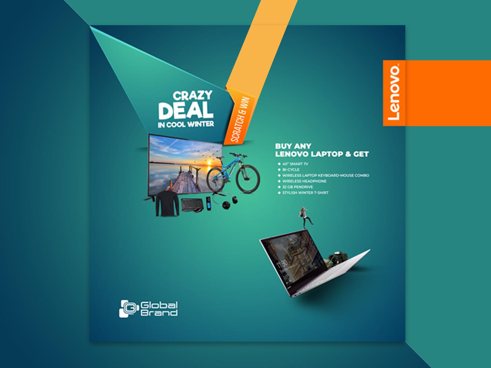 Lenovo Social Media Advertising Design By Rakibul Islam On Dribbble
