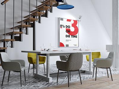 Typography Poster Design illustrator poster poster design graphic design