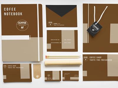 Coffee Shop Branding brand identity coffee shop graphics logo graphic design illustration photoshop business card design branding