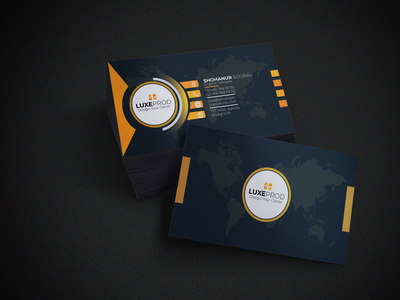 Professional Business Card Design business card professional business card illustration corporate business card branding business card design