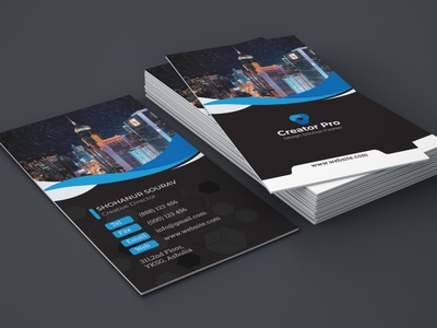 Professional business card business card professional business card corporate business card branding business card design