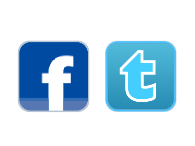 Sotheby's style Facebook and Twitter