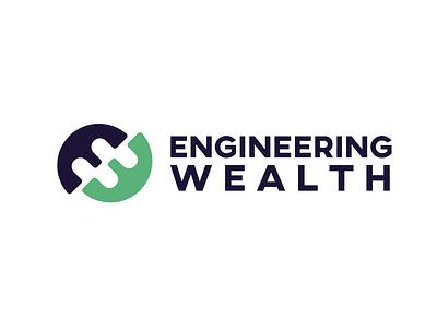 ENGINEERING WEALTH logo property management brand identity property marketing branding and identity real estate logo brand design property logo property developer real estate branding