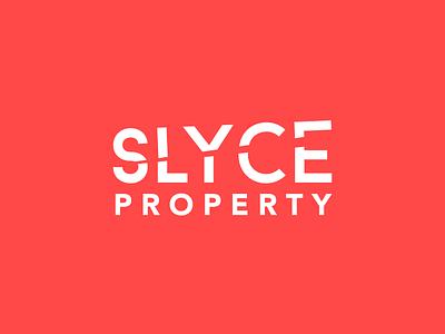 SLYCE PROPERTY GROUP branding and identity branding brand identity property marketing real estate branding real estate logo property management property logo property developer brand design