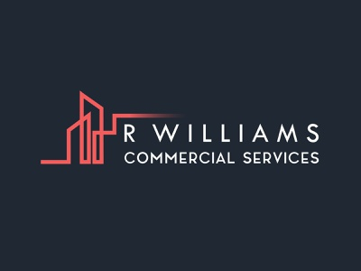 RW COMMERCIAL SERVICES property marketing brand identity branding agency logo design real estate branding real estate logo property management property logo property developer brand design