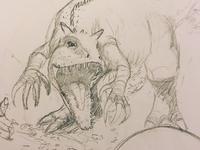Jurassic World commission (work in progress)