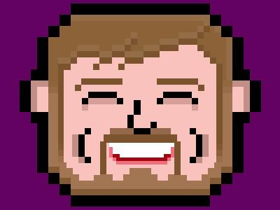 Pixel Craig pixel selfie