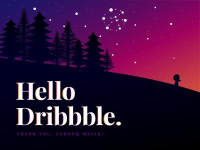Hello, Dribbble! I'm Amanda.