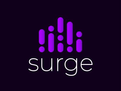 Surge Music Streaming Logo