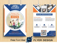 Flyer design or 2 side flyer design