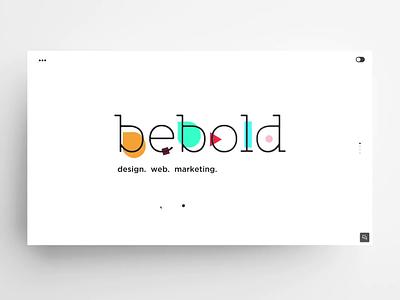 bebold – webstite web digital company jquery php css3 html 5 development frontend uxui design bebold