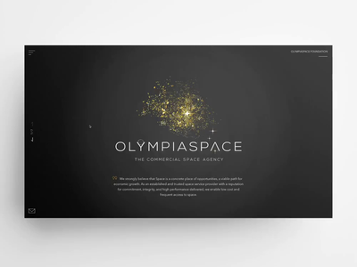 OLYMPIASPACE – website company jquery minimal clean agency website space fullscreen slider transitions animations css3 black yellow video html5 website uxui design